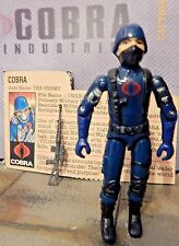 GI JOE ~ 1983 COBRA SOLDIER THE ENEMY ~ 100% complete & file card 1982