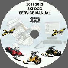 SKI-DO SNOWMOBILE 2011 2012 SERVICE REPAIR MANUAL