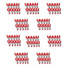 StewMac Lining Clamps for Acoustic Guitar, Set of 100 (10 Packs of 10 Clamps)