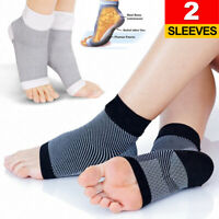 Foot Compression Socks Arch Ankle Pain Plantar Fasciitis Heel Spurs Sport Socks