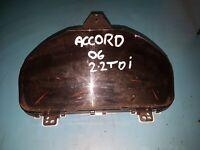 2006 Honda Accord 78100-E100 Speedometer Clock Cluster