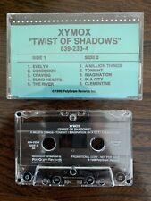 (Clan of) Xymox - Twist Of Shadows US PROMO CASSETTE synth pop 1989 RARE