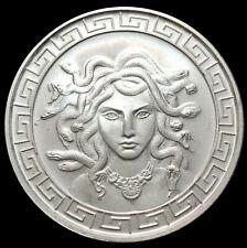 Medusa Head Greek Mythology 1 oz .999 Fine Silver Coins Brilliant UNC+