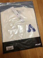 Palace Ch T-shirt White Size Medium