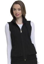 Black HeartSoul Scrubs In Vested Love Vest with Removable Hood HS500 BCKH