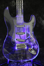 Starshine SR-MST-203 ST Full Acrylic LED Light Electric Guitar Crystal guitar