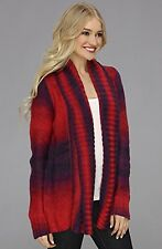 Fox Racing Womens Glimmer Cardigan Dark Red Size M