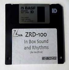 Ensoniq ZR-76 ZRD-100 In Box Sound & Rhythm Disk