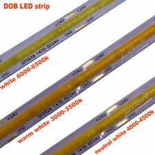 DC5V/12V/24V Flexible Led Strip High Density COB/FOB Light white 14W/M LED stirp