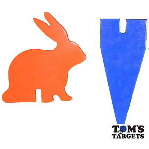 Rabbit With Stand Hardox AR500 Steel Shooting Target 10mm Plate