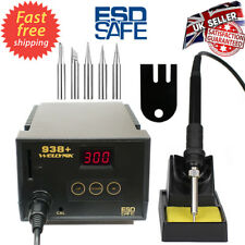 65W Wellynk Soldering Iron Station Welding Iron 6 Tips Stand Kit Digital Display