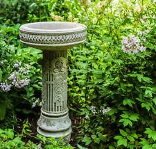 Stunning Sunflower Design Garden Bird bath Tall and Striking Design by Dgs Uk