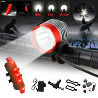 Bright XML T6 LED 5000 LM Cycling Front Bike Bicycle Head Light Headlamp Torch