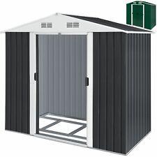 KESSER® XL Gerätehaus Geräteschuppen 4,2m³ Metall Gartenhaus Schiebetür 2,4m²