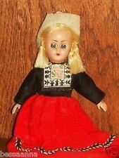 Vintage International Hard Plastic Doll Purse Souvenir