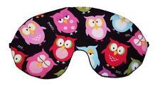 Travel Eye Sleep/Sleeping Mask SLEEPY BABY OWLS #E made by Graggie Australia*GA