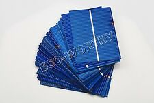 40pcs 52x78mm Poly Solar Cells for DIY 20W 12V Solar Panel Car Battery Charger