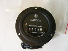 NOS Datcon Hour Elapsed Time Meter Gage Gauge