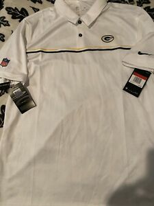 Green Bay Packers Nike Polo (L) Official Team Gear Retails for $75