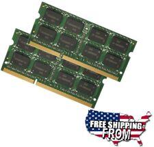 8GB 2x 4GB DDR3 PC3-8500 1066 MHz 204Pin SODIMM Notebook RAM Memory MacBook Pro