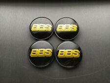 4x 68mm BBS Center Caps Hub Cap Wheel Rim Car Decal Badge (inner 64mm)