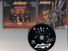 SCANNER - Hypertrace CD RARE HEAVY METAL JAPAN Reissue 1988 FIFTH ANGEL WARLORD