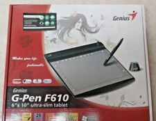 Genius G-Pen F610 USB Tablet With Box FREE SHIPPING!