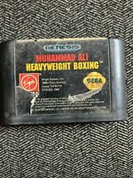 MUHAMMAD ALI HEAVYWEIGHT BOXING - SEGA GENESIS - GAME ONLY - FREE S/H - (N2)