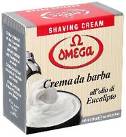 Omega Shaving Cream 2 x Tubs 150 gm each