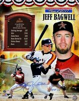 Jeff Bagwell Signed 16X20 Photo Houston Astros  Inscribed HOF '17 Tristar