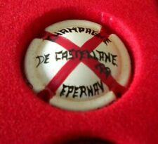 capsule de champagne peinte a la main de castellane tres rare