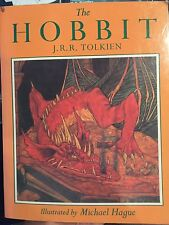 The Hobbit by J.R.R. Tolkien Illustrated by Michael Hague Signed by Hague Book