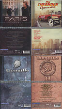 4 CDs, Paris - Only One Life + Theander Expression + 2 X Lionville (I + II) AOR