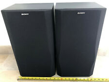Sony SS-A509E Stereo Speakers Very Good Condition Fully Working