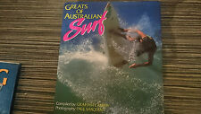 GREATS OF AUSTRALIAN SURF SURFING SURFERS WAVE RARE BOOK RICHARDS POTTER BUGS