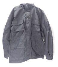 Ralph Lauren Men's Longhorn Hooded Raincoat Fall Jacket 40 Regular Black
