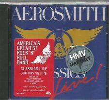AEROSMITH  -  CLASSICS LIVE. /  REMASTER. ( RUSH , FOGHAT , LED ZEPPELIN , UFO )