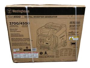WESTINGHOUSE iGen4500 Digital Inverter Generator 3700/4500 watts