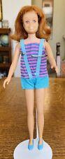 Vintage Barbie Straight Leg Redhead Titian Skooter Doll
