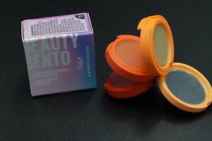 Kaja Beauty Bento Bouncy Matte & Shimmer Eyeshadow Trio 06 Poppy Champagne -BNIB