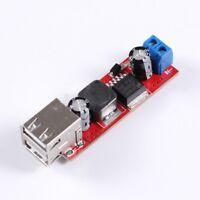 Dual USB Output 9V/12V/24V/36V to 5V DC-DC 3A Step Down Regulated Power Module