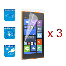 For Nokia Lumia 730 735 Screen Protector Cover Guard LCD Film Foil & Cloth x 3