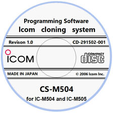 Icom CS-M504 Programming Software Download for Icom IC-M504 and IC-M505