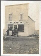2 - 1914 Photos of Harness Shop in Madison South Dakota Exterior & Interior