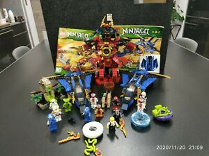 lot lego Ninjago: 2 avions 9442 et 1 robot samourai mechs 9448 et plus...