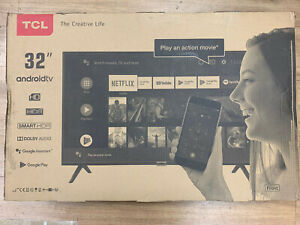 """TCL 32ES568 32"""" HD Ready Smart HDR Android LED TV Slim & narrow design"""