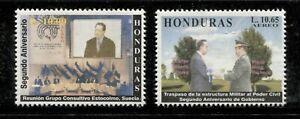 HONDURAS 2000, 2ND ANNIVERSARY OF PRESIDENT FLORES, Scott C1071-C1072, MNH