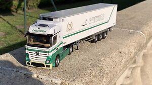 Eligor Camion Mercedes Transports Gautier 1/43