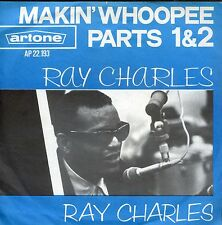 7inch RAY CHARLES makin whoopee parts 1 & 2 HOLLAND EX  +PS