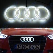 Led Emblem X1 For Audi Chrome Grille Front Hood A1 A3 A4 A5 A6 A7 Q3 Q5 Q7 White